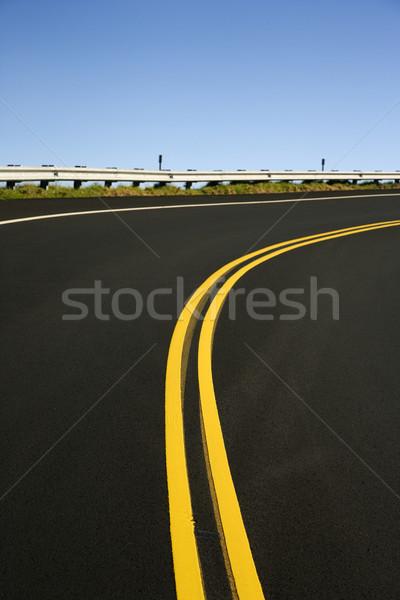 Curving road. Stock photo © iofoto