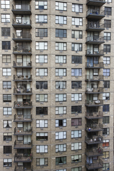 Apartment building, NYC. Stock photo © iofoto