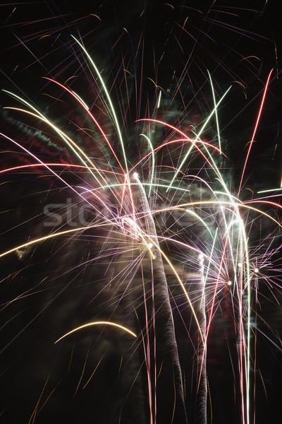 Colorful fireworks. Stock photo © iofoto