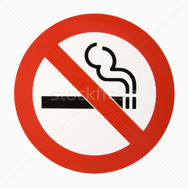 No smoking logo. Stock photo © iofoto