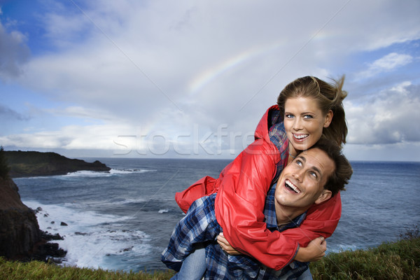 Couple vacationing in Maui, Hawaii. Stock photo © iofoto