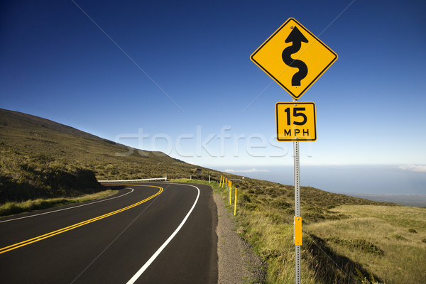 Road in Maui, Hawaii. Stock photo © iofoto