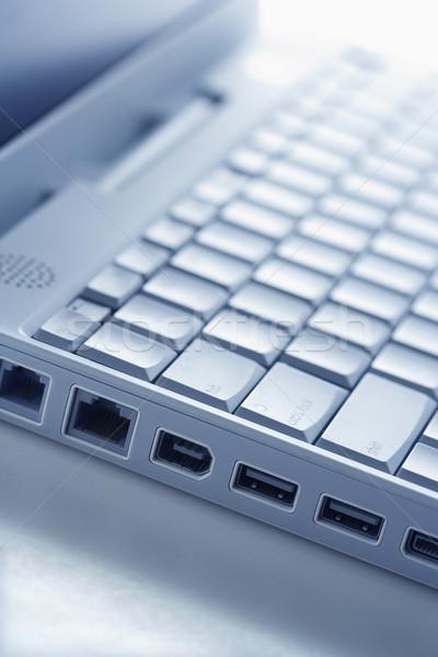 Laptop Connection Ports Stock photo © iofoto