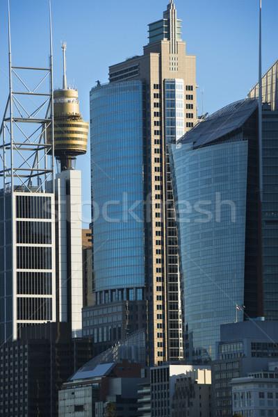 Sydney Australie bâtiments gratte-ciel centre-ville urbaine Photo stock © iofoto