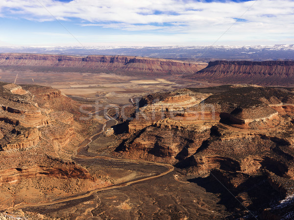 Craggy Landscape With Caynons Stock photo © iofoto