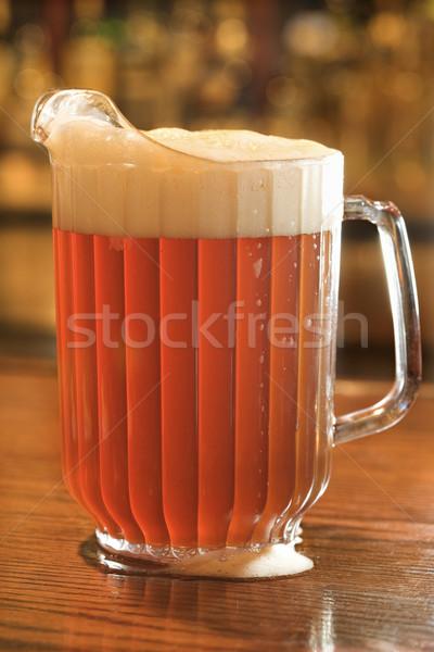 Full Pitcher of Beer Stock photo © iofoto