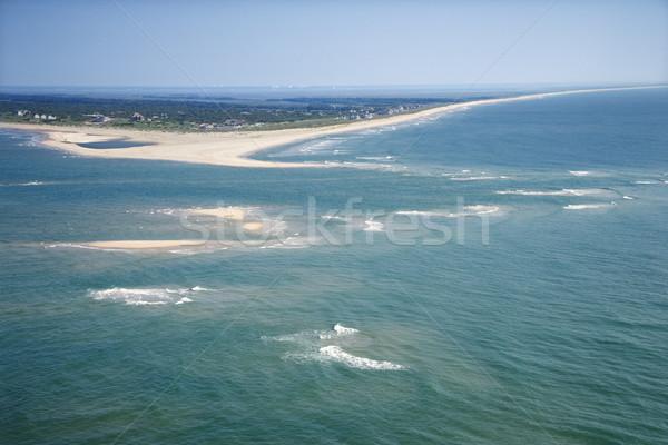 Aerial of island. Stock photo © iofoto