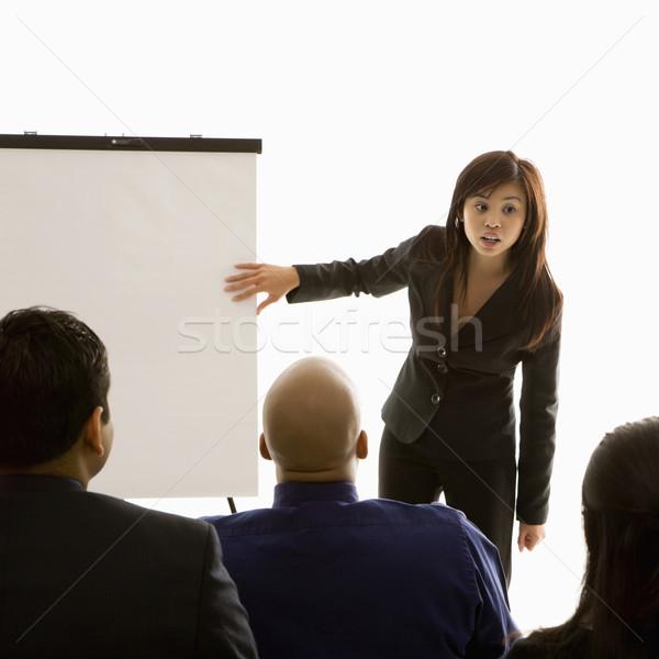 Business presentation. Stock photo © iofoto