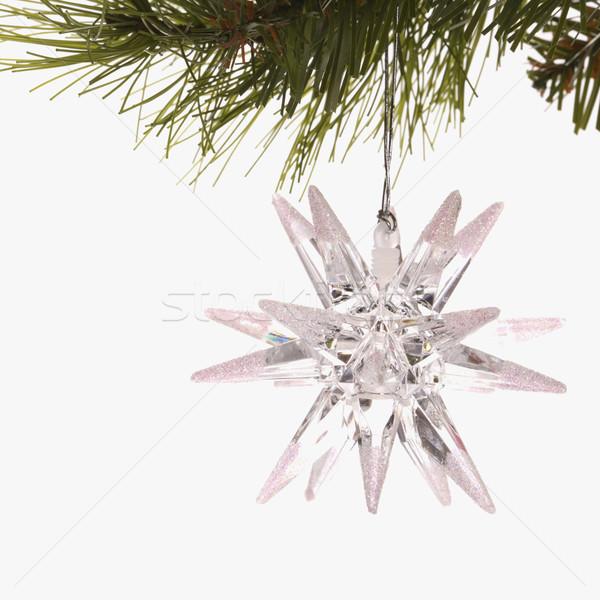 Star Christmas bulb. Stock photo © iofoto