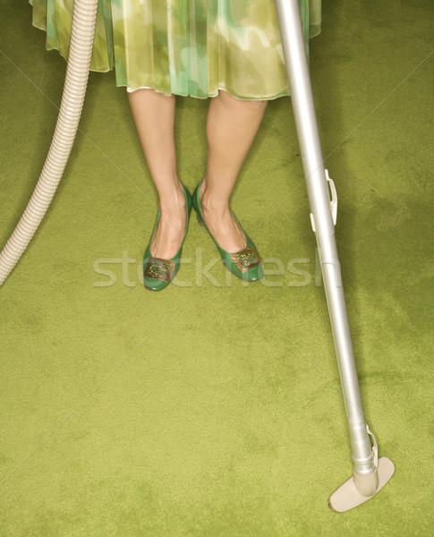 Femme Homme jambes Photo stock © iofoto