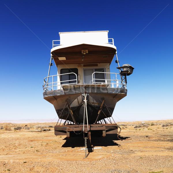 Arizona Wüste Landschaft Sitzung ländlichen Vereinigte Staaten Stock foto © iofoto
