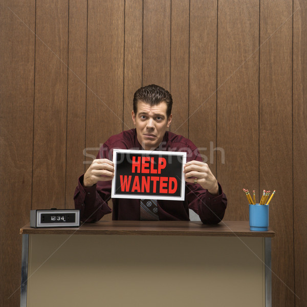 Help wanted. Stock photo © iofoto