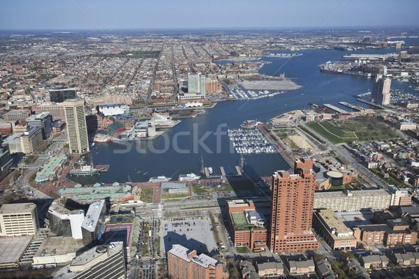 Baltimore Harbor. Stock photo © iofoto