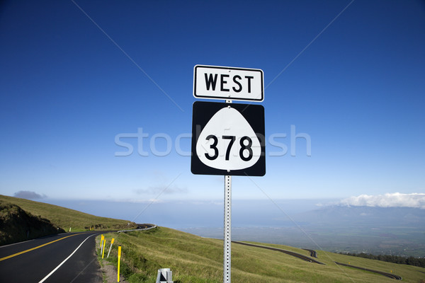 Highway 378, Maui, Hawaii. Stock photo © iofoto