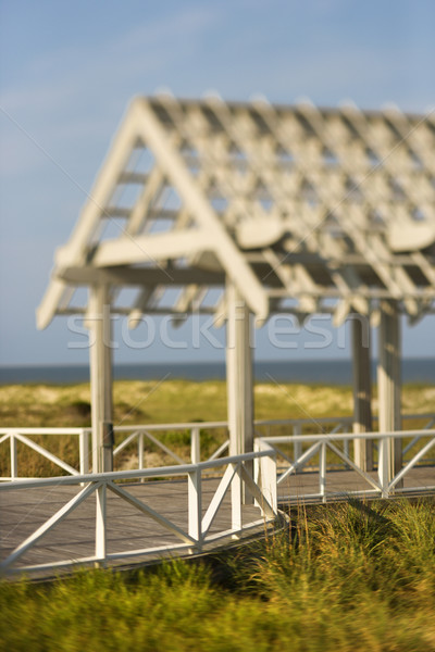 View of Arbor Deck Stock photo © iofoto