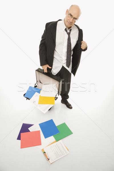 Stressed Businessman. Stock photo © iofoto