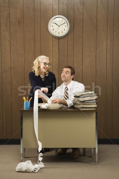 Office workers. Stock photo © iofoto
