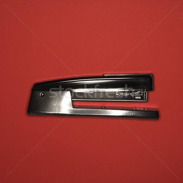 ホッチキス 赤 黒 ビジネス 金属 色 ストックフォト © iofoto