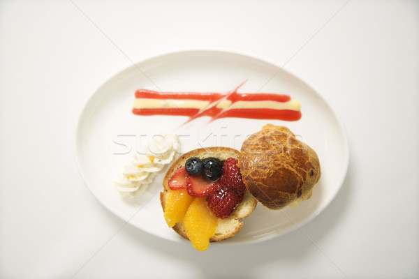 Fruit brioche. Stock photo © iofoto