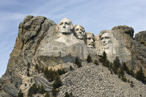 Mount Rushmore South Dakota montanha homens retrato cor Foto stock © iofoto
