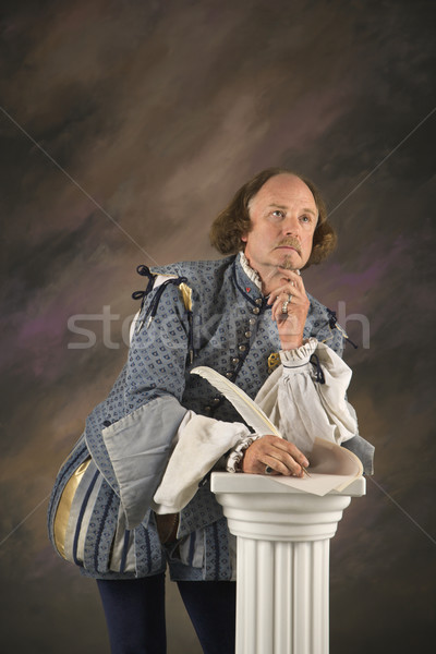 Shakespeare thinking. Stock photo © iofoto