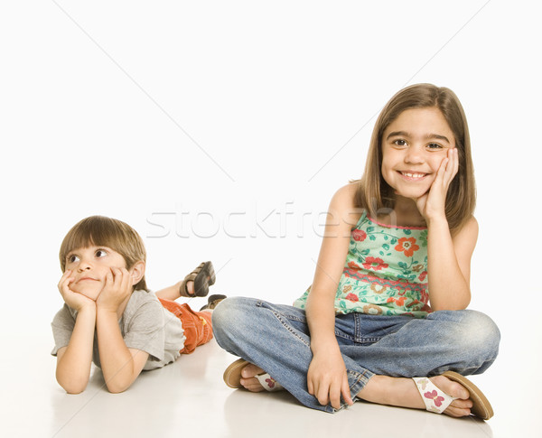 Portrait of children. Stock photo © iofoto