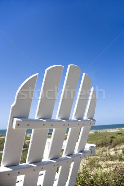 Chair on beach. Stock photo © iofoto