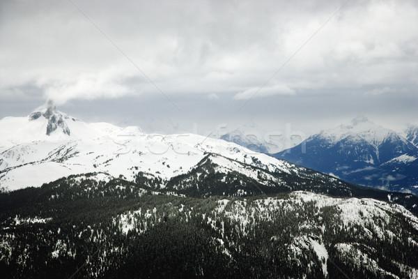 Ski resort mountain with snow. Stock photo © iofoto