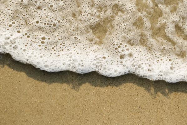 Foto stock: Areia · ondas · onda · praia · cor