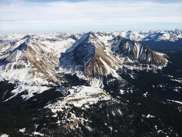 Rocky Mountain aerial. Stock photo © iofoto