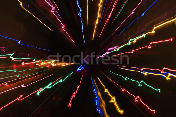 光 パターン ライト 抽象的な ストックフォト © iofoto