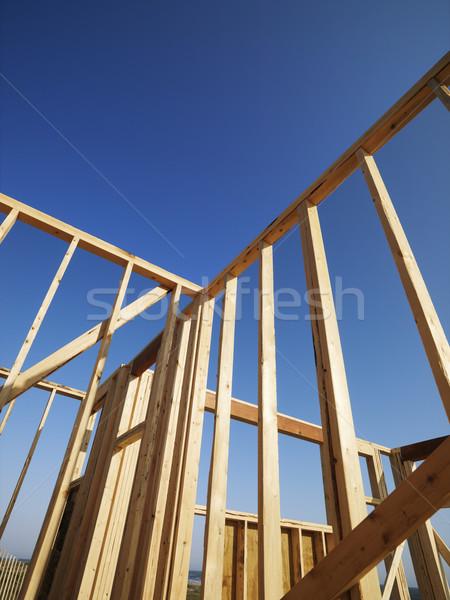 Wooden framework.  Stock photo © iofoto