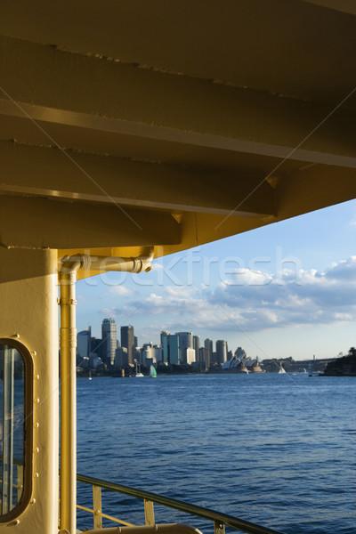 Sydney haven Australië skyline gebouw Stockfoto © iofoto