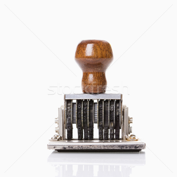Stock photo: Stamp tool.