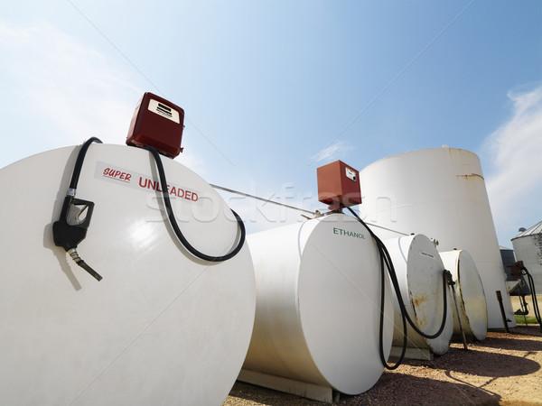 üzemanyag ólommentes etanol szín raktár gázolaj Stock fotó © iofoto