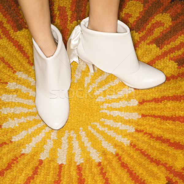 Pair of female feet. Stock photo © iofoto