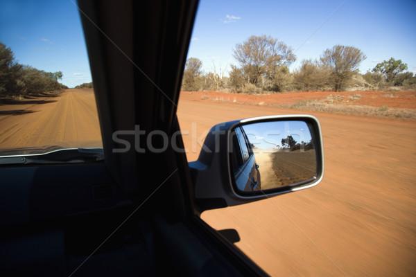 Vehicle on dirt road Stock photo © iofoto