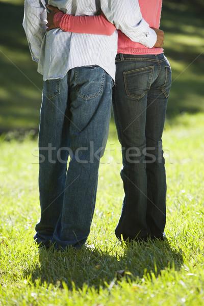 Couple holding eachother. Stock photo © iofoto