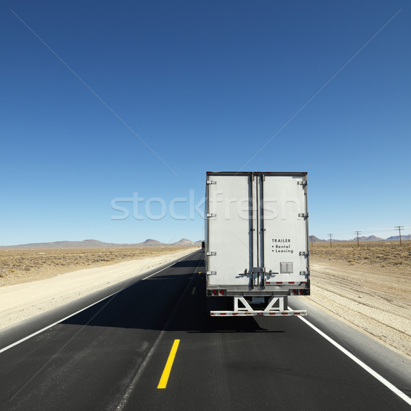 Truck on highway. Stock photo © iofoto
