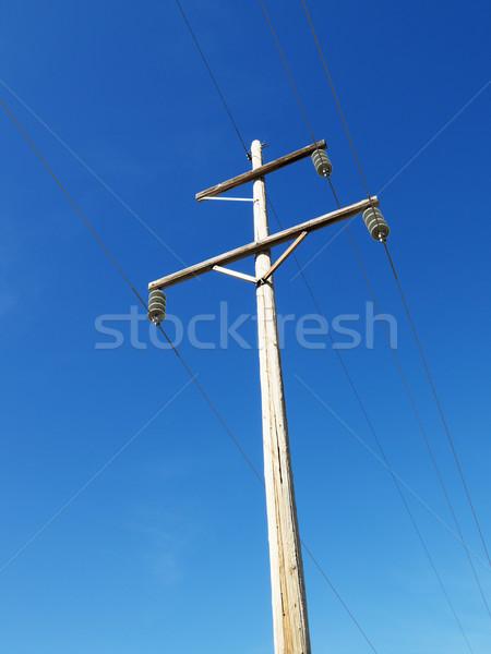 Power line. Stock photo © iofoto