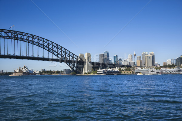 Sydney haven Australië brug centrum Stockfoto © iofoto