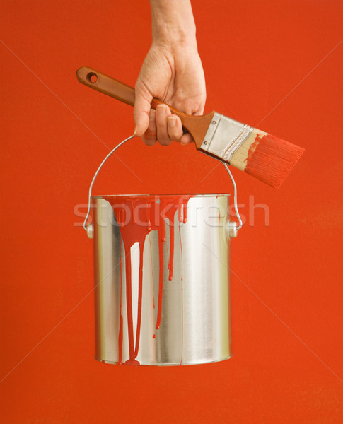Stockfoto: Vrouw · kaukasisch · vrouwelijke · hand