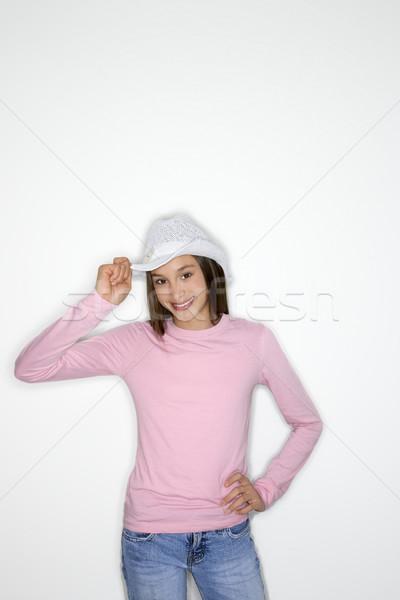 Cute girl portrait. Stock photo © iofoto