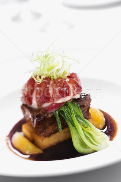 Gourmet meal still life. Stock photo © iofoto