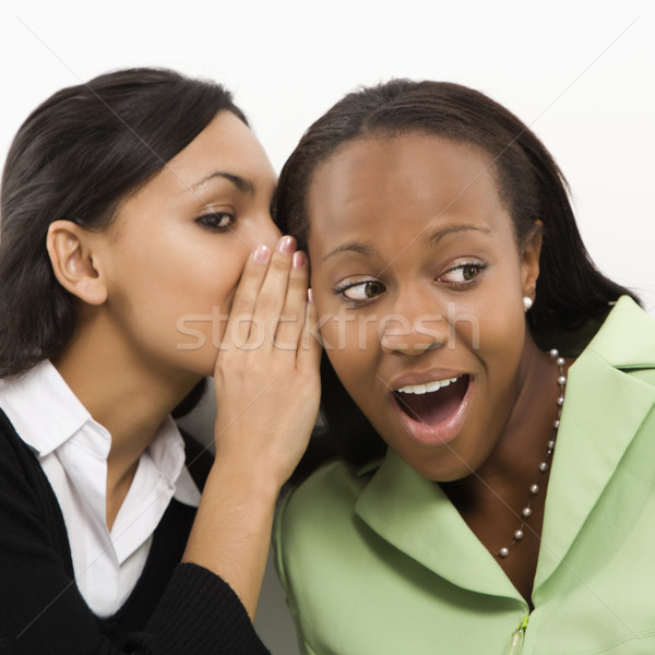 Women gossiping. Stock photo © iofoto