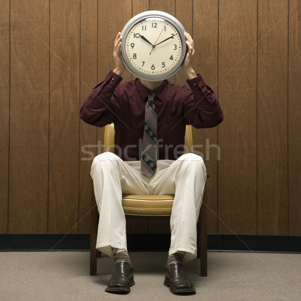 Time work concept. Stock photo © iofoto
