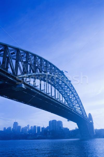 Sydney port pont vue Australie Photo stock © iofoto