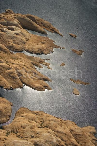 Lago desfiladeiro Utah EUA Foto stock © iofoto