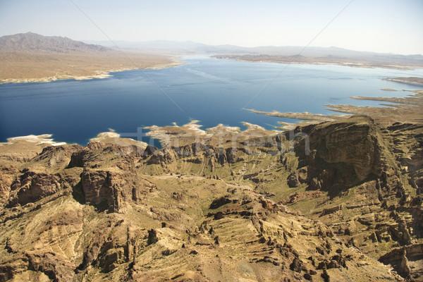 Göl Nevada manzara ABD su Stok fotoğraf © iofoto
