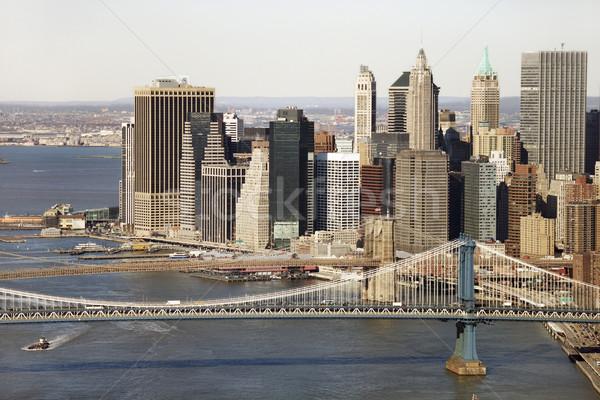 Manhattan Bridge, NYC. Stock photo © iofoto